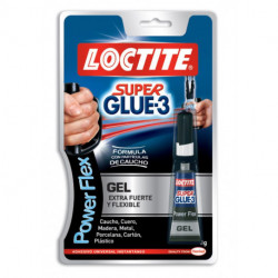 Pegamento Inst. Super Glue-3 Gel 3g Power Flex