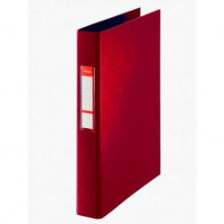 Carpeta De Anillas Esselte Pvc Oficina Fº 2 An.Mixtas 40mm Rojo