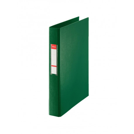 Carpeta De Anillas Esselte Pvc Oficina Fº 4 An.Mixtas 40mm Verde