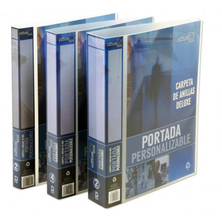 Carpeta Canguro Office Box Pp Trans. A4 2 An.40mm