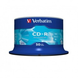 Cd-Rom Verbatim 700mb 52x Spindle 50 (Incluye Canon Lpi De 4.00 €)