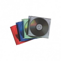 Archivo Cd Fellowes Estuche Colores Surtidos Plano De 1 Pack De 25