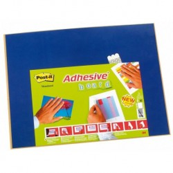 Pizarra Corcho Adhesiva Post-It 585x457 Mm. Azul