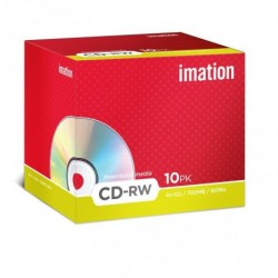 Cd-Rom *Rw* Imation 700mb 4x Jewel Case 10 (Incluye Canon Lpi De 1.00 €)