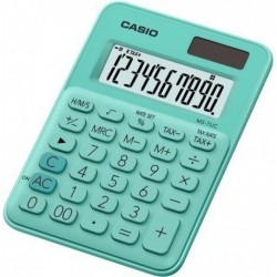 Calculadora Sobremesa Casio 10 Digitos Ms-7uc Verde