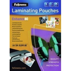 Funda Plastificar Fellowes Brillo 303x426 (A3) 80µ