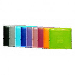 Clasificador Acordeon Office Box Pp Colorline 335x240mm Plus 12 Dptos.+1 Dpto.Para Block, Con Ribete Y Gomas