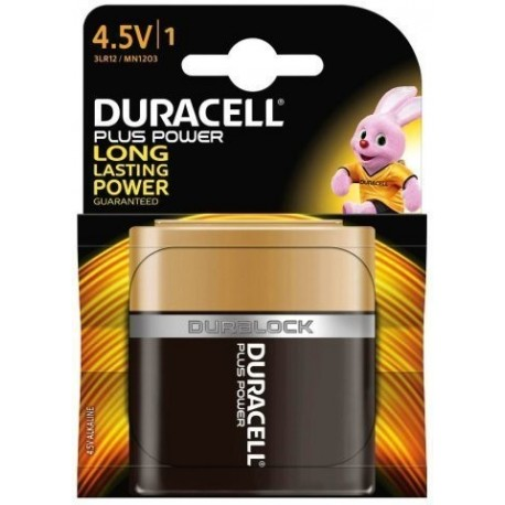 Pilas Duracell 4,5v Plus Power (Mn1203 - 3lr12) Blister De 1
