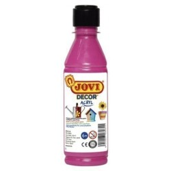 Pintura Latex Jovi Decor 250 Ml (Botella) Magenta