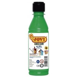 Pintura Latex Jovi Decor 250 Ml (Botella) Verde Medio