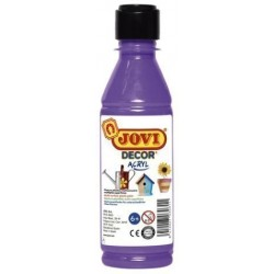 Pintura Latex Jovi Decor 250 Ml (Botella) Violeta