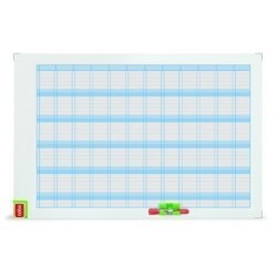 Planning Magnetico Nobo Performance Anual 60x90 Cm.