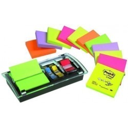 Dispensador Post-It Millenium + 12 Taco Notas Post-It Z-Notas
