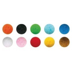 Pom Pom Smart Colores 5 Cm. Surtidos Pack De 52