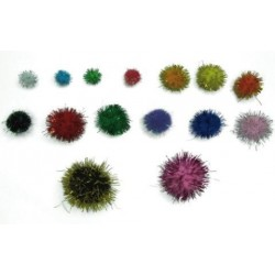 Pom Pom Smart Colores Brillantes Surtidos Pack De 100