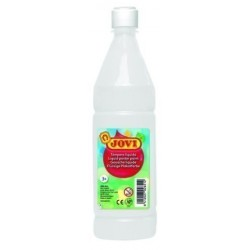 Tempera Jovi Liquida 1000 Ml (Botella) Blanco