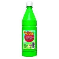 Tempera Jovi Liquida 1000 Ml (Botella) Verde Medio