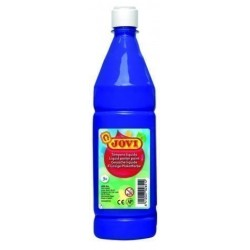 Tempera Jovi Liquida 1000 Ml (Botella) Azul Ultra