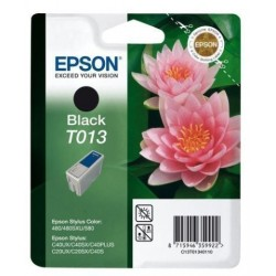 Cartucho Inkjet Epson T013401 Stylus Color 480/580 Negro 10ml