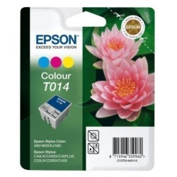 Cartucho Inkjet Epson T014401 Stylus Color 480/580 Color 25ml
