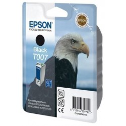 Cartucho Inkjet Epson T007401 Stylus Photo 790/870/875dc/890/895/900/915/1270/1290 Negro 16ml