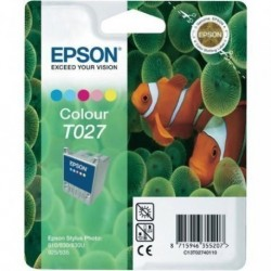 Cartucho Inkjet Epson T027401 Stylus Photo 810/830/925/935 Color