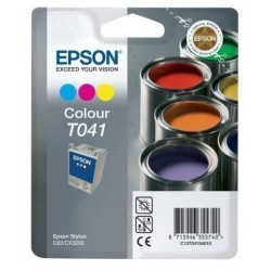 Cartucho Inkjet Epson T041040 Stylus C62 Cx3200 Color