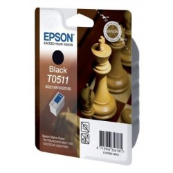 Cartucho Inkjet Epson T051140 Stylus Color 740 T. Blue 760/800/850/860/1160/1520 Stylus Scan 2000/2500 Negro 24ml
