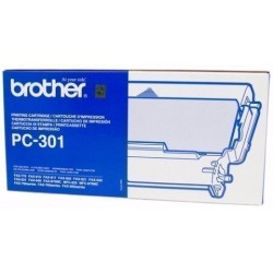 Cons. Ttr Brother Pc301 Fax 921/931 Cartucho Y Bobina Fax (235 Pag.)