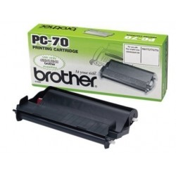 Cons. Ttr Brother Pc 70 Fax T7x/8x/9x Cartucho Y Bobina (144 Pag.)