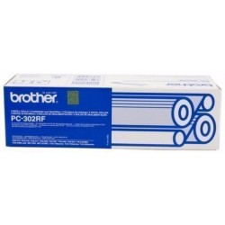 Cons. Ttr Brother Pc302rf Fax 921/931 Recambio 2 Bobinas (235 Pag.X2)