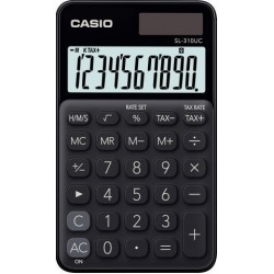 Calculadora De Bolsillo Casio 10 Digitos Sl-310 Uc Negro