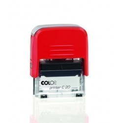 "Sello Ent.Aut. Colop Printer C20 (38x14 Mm.) ""Cobrado"""