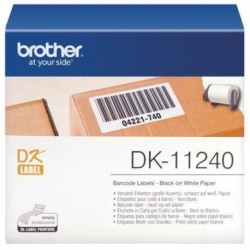 Etiquetas Brother Precortada Papel Blanco 51x102 Mm Rollo 600 Uds. (Dk11240)