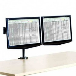 Soporte Brazo Monitor Fellowes Doble Professional Series