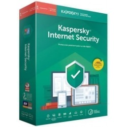 Antivirus Kaspersky 2019 Internet Security 1 Pc