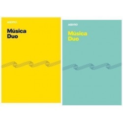 Bloc De Musica Additio Duo 8 Pentagramas A4 Con Cuadricula Inferior Para Anotaciones