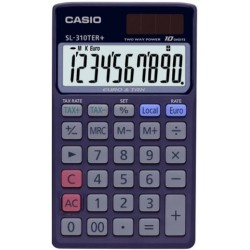Calculadora De Bolsillo Casio 10 Digitos Sl-310 Ter