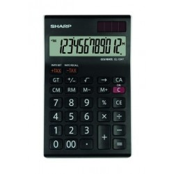 Calculadora De Sobremesa Sharp 12 Digitos El-124t