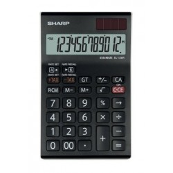 Calculadora De Sobremesa Sharp 12 Digitos El-126t