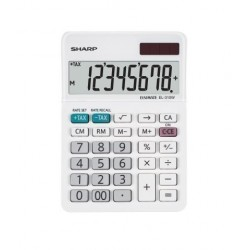 Calculadora De Sobremesa Sharp 8 Digitos El-310w