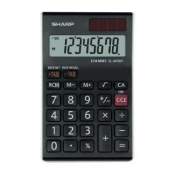Calculadora De Sobremesa Sharp 8 Digitos El-M700t