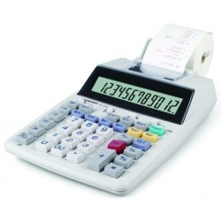 Calculadora Impresora Sharp 12 Digitos El-1750v