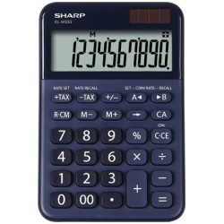 Calculadora De Sobremesa Sharp 10 Digitos El-M335bbl Gris