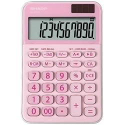 Calculadora De Sobremesa Sharp 10 Digitos El-M335bpk Rosa