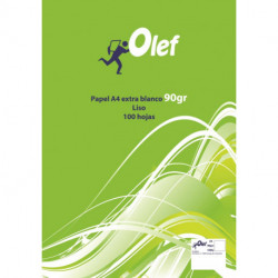 Papel A4 Olef/Pacsa 90g 100h Liso