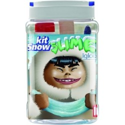 Juego Instant Slime Kit Snow Igloo