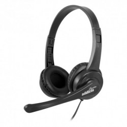 Auriculares Con Micro Ngs Vox505 Usb Negro