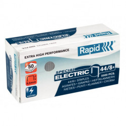 Grapas Rapid Super Strong 44/8+ Mm. Galvanizadas Caja De 5000