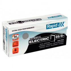 Grapas Rapid Super Strong 66/8+ Mm. Galvanizadas Caja De 5000